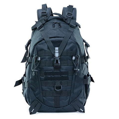 40L Camping Backpack Military Bag Men Travel Backpack Tactical Army Molle Climbing Rucksack Hiking Outdoor Sports