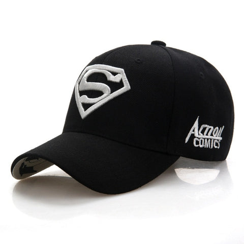 Image of Superman Cap Casual Outdoor Baseball Caps For Men Hats Women Snapback Caps For Adult Sun Hat