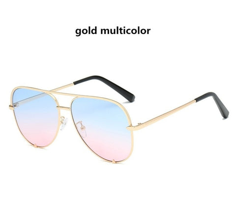 Image of Sexy Lady Vintage Round Metal  Sunglasses Men Driving Black Retro Mirror Sun Glasses Lady Shade Sunglasses UV400