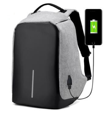 Image of USB Charging Backpack 15 Inch Travel Backpack Multi Function Anti Theft Waterproof Mochila School Bag For Men PC Backpacks