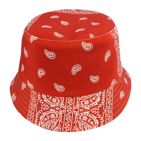 Image of Fashion Reversible Black White Cow Pattern Bucket Hats Fisherman Caps For Women