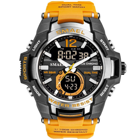 Image of Men Watches Sport Watch Waterproof 50M Wristwatch 1805 Men's Clock Digital Military Army Watch