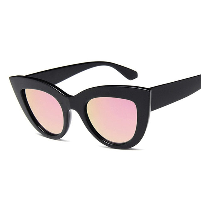 Cat Eye Fashion Sunglasses Women Vintage Luxury Brand Designer Black Glasses Sun Glasses For female UV400 Eyewear Shades