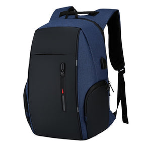 Backpack Men USB Charging Waterproof Laptop Backpack Women Casual Oxford Male Business Bag 15.6 Inch Computer Notebook Backpacks