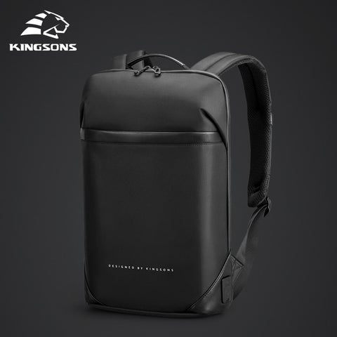 Image of lim Laptop Backpack Men 15.6 inch Office Work Men Backpack Business Bag Unisex Black Ultralight Backpack