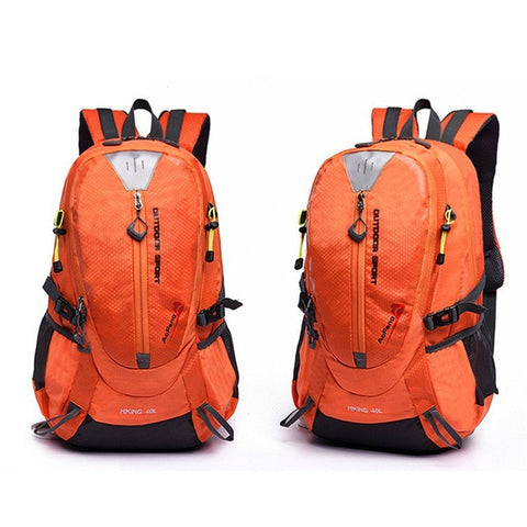 Image of Waterproof Climbing Backpack Rucksack 40L Outdoor Sports Bag Travel Backpack Camping Hiking Trekking Bags