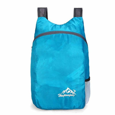 Image of 20L Waterproof Backpack Ultralight Foldable Bag Breathable Shoulder Strap Outdoor Camping Hiking Backpack With Storage Bag