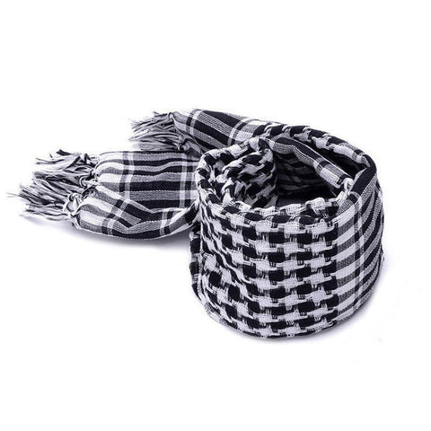 Image of Fashion Mens Lightweight Square Outdoor Shawl Military Arab Tactical Desert Army Scarf Fashion