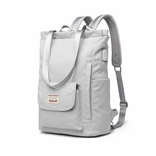 Waterproof Stylish Laptop Backpack Women 13 13.3 14 15 15.6 inch  Korean Fashion Oxford Canvas USB College Backpack Bag