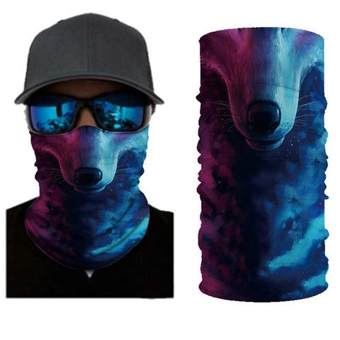 Image of 3D Seamless Bandanas Neck Gaiter Motorcycle Cycling Marvel Face Mask Men Women Headband Hiking Scarf Face Shield