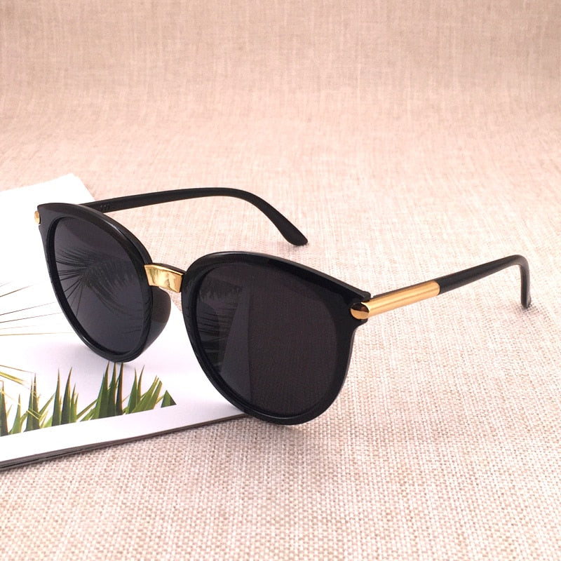 Classic Round Vintage Sunglasses Women Fashion Brand Design Mirror Sun Glasses Female Shades Retro UV400