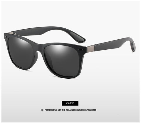 Image of Classic Polarized Sunglasses Men Women Brand Design Driving Square Frame Sun Glasses Male UV400
