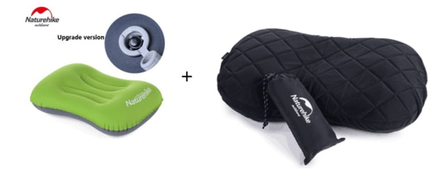 Naturehike Outdoor Inflatable Travel Pillows Cover Set Pillow