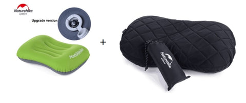 Image of Naturehike Outdoor Inflatable Travel Pillows Cover Set Pillow