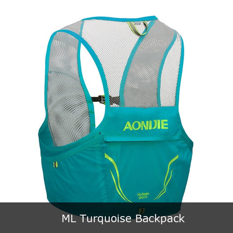 Lightweight Backpack Running Vest Nylon Hydration Pack Bag Cycling Marathon Portable Ultralight Hiking 2.5L