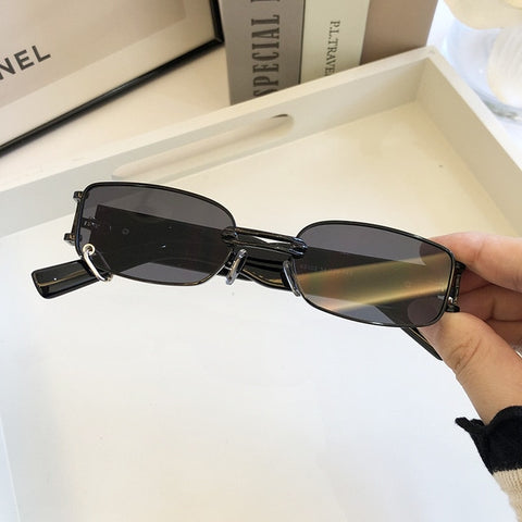 Image of Retro European Women's Sunglasses Fashion Sunglasses with Box