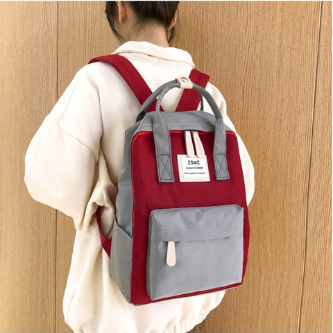 Image of Multifunction women backpack fashion youth korean style shoulder bag laptop backpack schoolbags for teenager girls boys travel