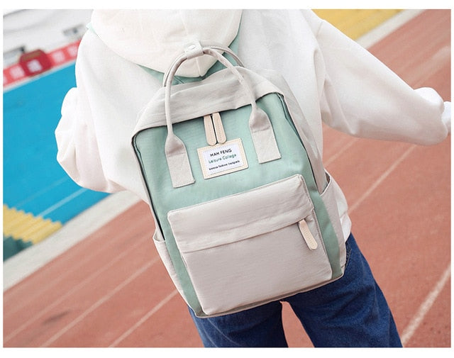 Multifunction women backpack fashion youth korean style shoulder bag laptop backpack schoolbags for teenager girls boys travel