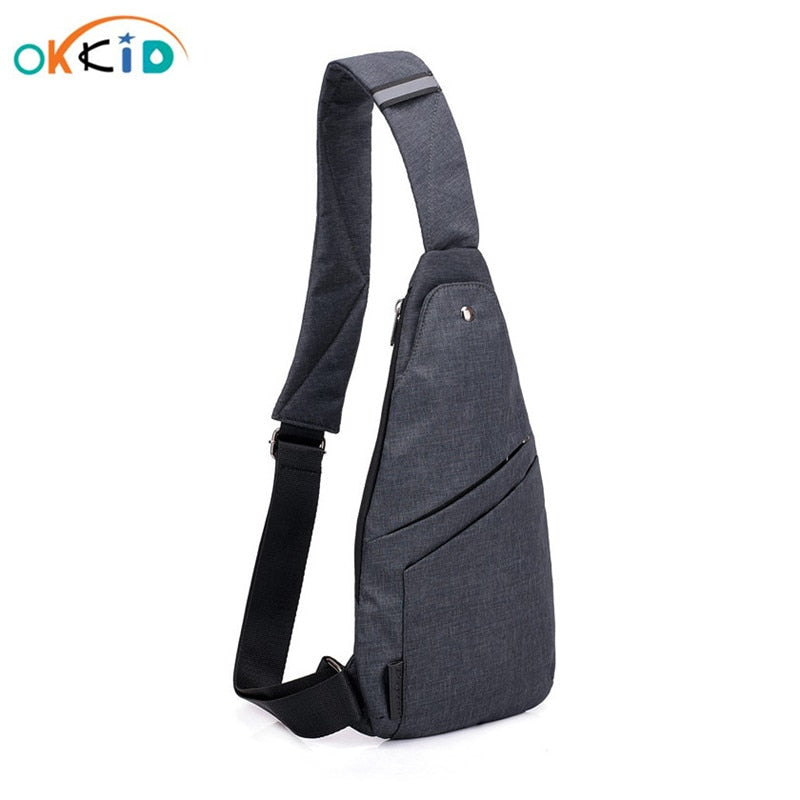 Small anti-theft bagpack sling one shoulder sport bag waterproof travel small chest bag slim mini crossbody bag