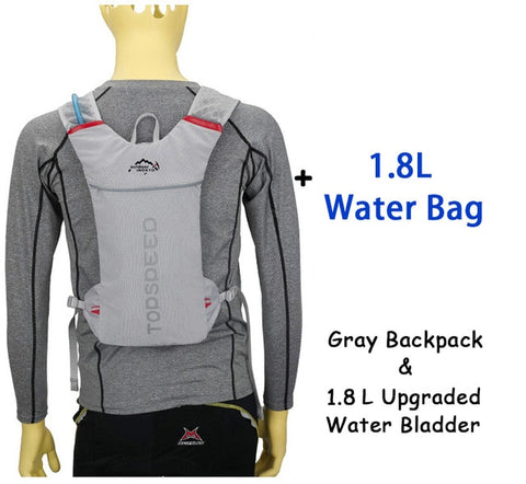 Image of Cycling Hydration Backpack Water Bag Outdoor Jogging Sport Backpack Running Backpack With 1.8L Bladder Water Bag As Option