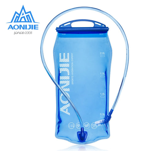 Image of Water Reservoir Water Bladder Hydration Pack Storage Bag BPA Free - 1L 1.5L 2L 3L Running Hydration Vest Backpack