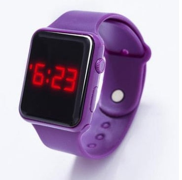 Children's LED Wristwatch Digital Electronic Boys Girls Kids Watches