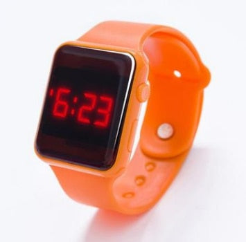 Image of Children's LED Wristwatch Digital Electronic Boys Girls Kids Watches