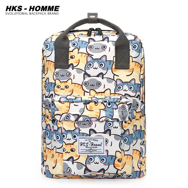 Female Backpack Fashion Women Backpack College School Bagpack Harajuku Travel Shoulder Bags For Teenage Girls or Boys