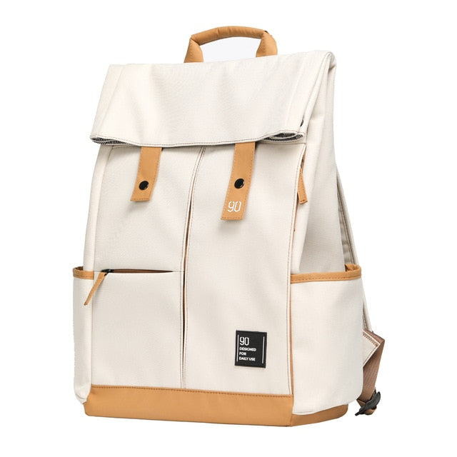 College Teenager Laptop Backpack Fashion Leisure Waterproof Bagpack Unisex Casual Computer School Bag 15.6 inch