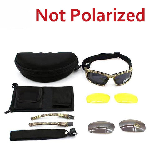 Image of Sport Polarized Glasses Daisy C5 X7 Tactical Military Glasses Men Hunting Shooting Airsoft Goggles 4 Lenses Hiking Glasses