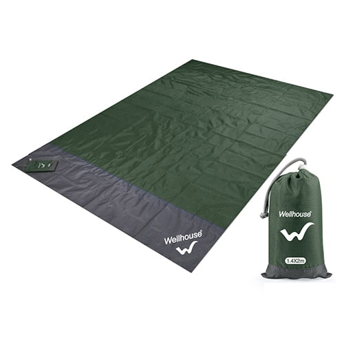 Camping Mat Waterproof Beach Blanket Outdoor Portable Picnic Ground Mat Outdoor Camping Picnic Blanket 2m*1.4/2.1m