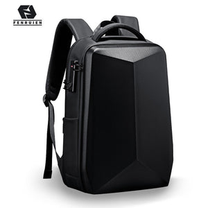 Fashion Waterproof Backpack Anti-Thief School Backpacking Fit for 15.6 Inch Laptop Men Travel Business Backpacks