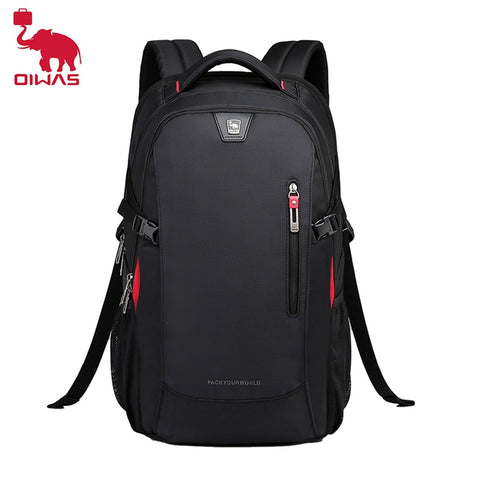 Image of School Bags 14 inch Laptop Backpacks Waterproof Nylon 29L Casual Shoulder Bagpack Travel Teenage Men's Backpack