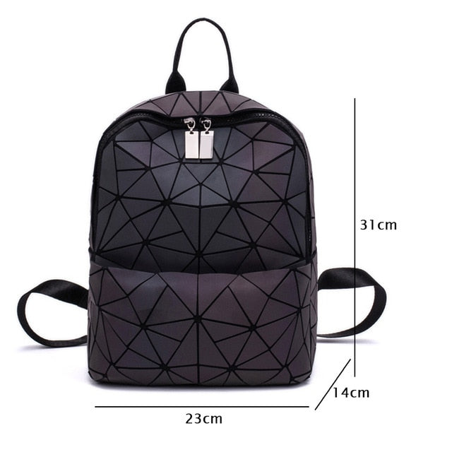 Women Backpack School Bag For Teenagers Girls Large Capacity Backpacks Travel Bags for School Back Pack Holographic Bagpack