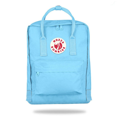 Image of Travel Backpack Casual School Bags Solid Color Oxford  Waterproof Bag Three Size Backpacks Teenagers Girls Designer Shoulder Bag