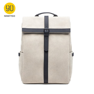 Grinder Oxford Casual Backpack 15.6 inch Laptop Bag British Style Bagpack for Men Women School Bag