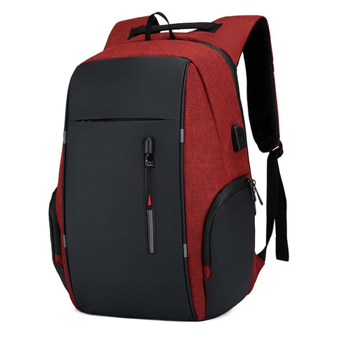 Backpack Men USB Charging Waterproof 15.6 Inch Laptop Casual Oxford Male Business Bag Computer Notebook Backpacks