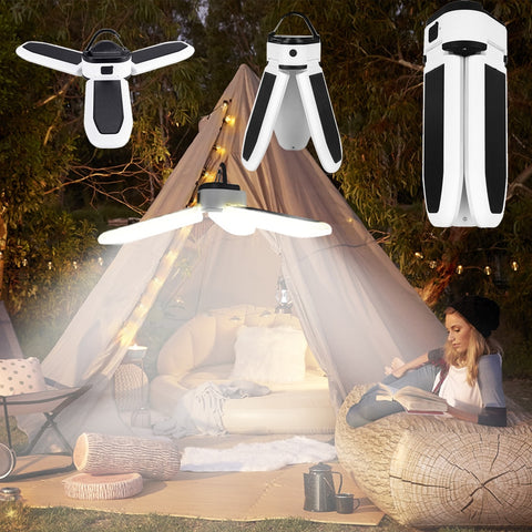 Camping Lantern Portable Light Camping Light Led Rechargeable Flashlight Lamp Emergency Camping Light Bulb Powerful Solar or USB