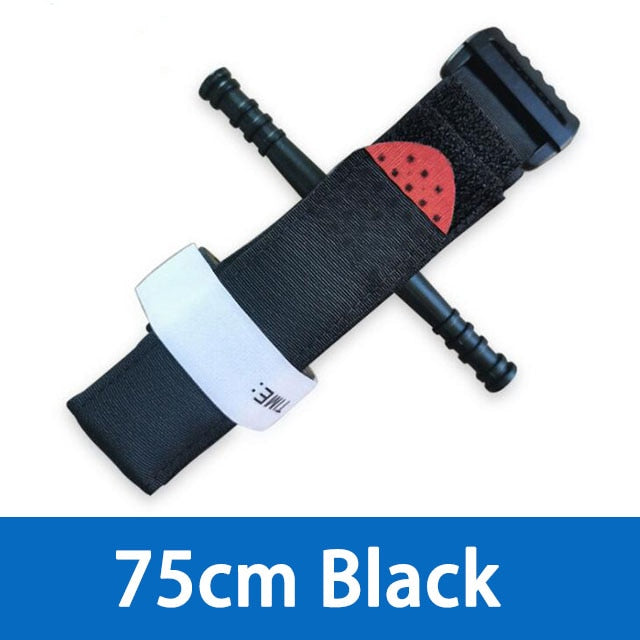 1PC Emergency Tourniquet Outdoor Portable First Aid Quick Slow Release Buckle Survival Tool Military Supplies Tactical Equipment