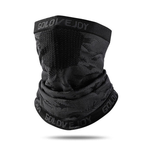 Image of Winter Black Caps Running Scarf Anti-UV Headwear Bicycle Bandana Sports Fishing Mask Cover Magic Scarf Ice Silk