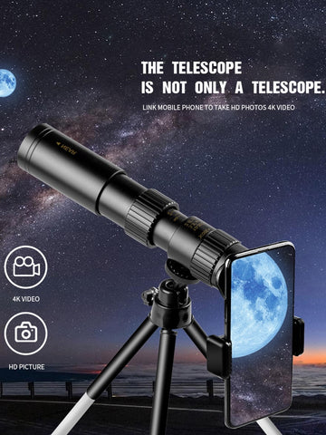 Image of Monocular Telescope Super Zoom Quality Eyepiece Portable Binoculars Hunting Night Vision Scope Outdoor Camping
