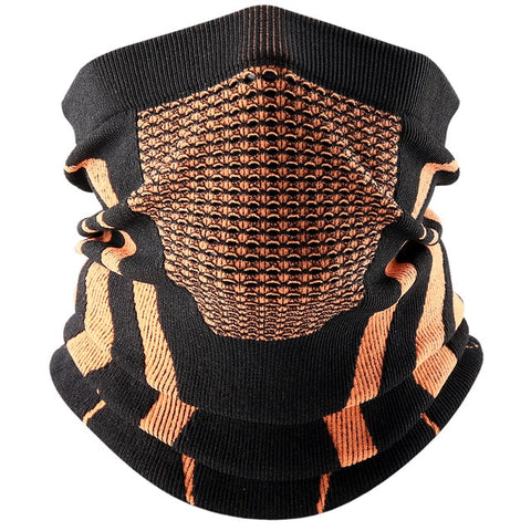 Image of Thermal Face Bandana Mask Cover Neck Warmer Gaiter Bicycle Cycling Ski Tube Scarf Hiking Breathable Masks Print Women Men Winter