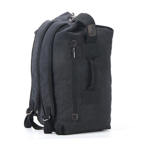 Large Capacity Rucksack Man Travel Bag Mountaineering Backpack Male Luggage Canvas Bucket Shoulder Bags for Boys Men Backpacks