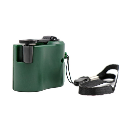 Image of EDC USB Phone Emergency Charger For Camping Hiking Outdoor Sports Hand Crank Travel Charger Camping Equipment Survival Tools