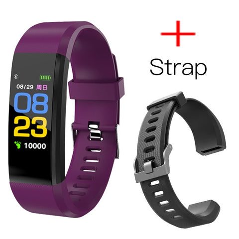 Smart Watch Men Women Heart Rate Monitor Blood Pressure Fitness Tracker Smartwatch Sport Watch for ios android +BOX