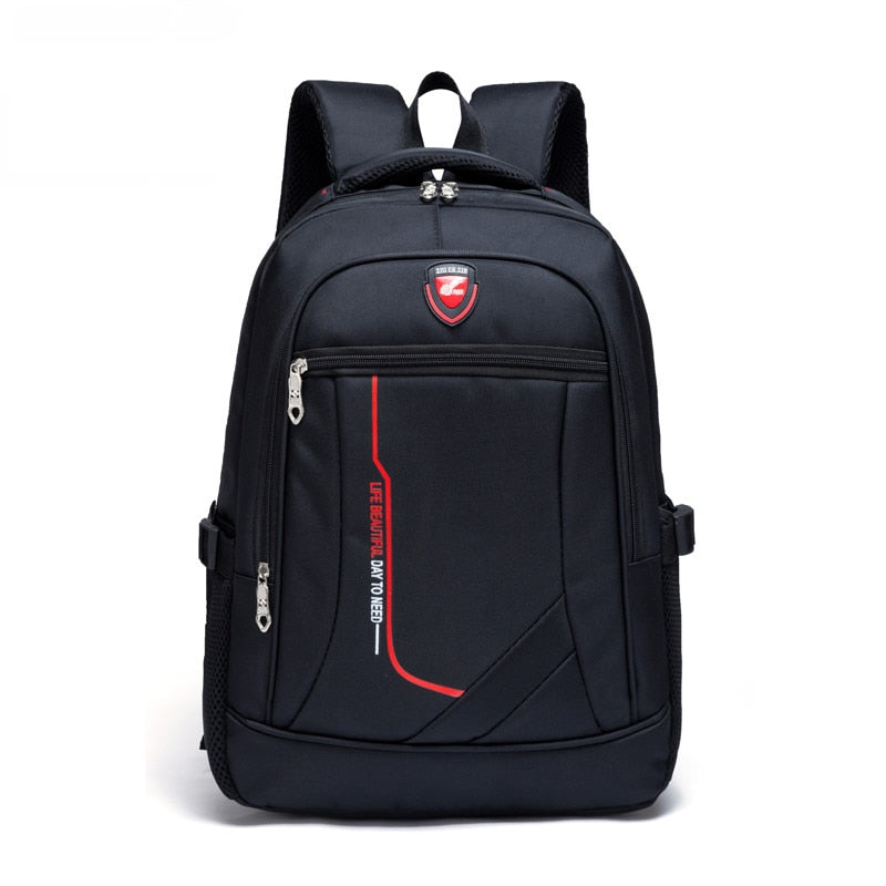 Men's High-Quality Nylon Backpack Multi-Function Variety Of Colors Climbing Travel Backpack Youth Casual Fashion Large Capacity