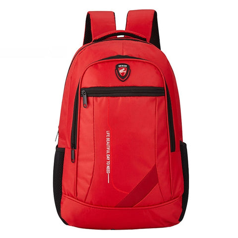 Image of Men's High-Quality Nylon Backpack Multi-Function Variety Of Colors Climbing Travel Backpack Youth Casual Fashion Large Capacity