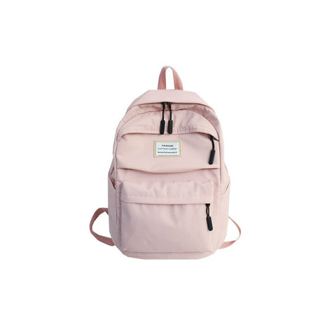 Image of DCIMOR Waterproof Nylon Women Backpack Female Large capacity high school bag Korean Vintage girl Shoulder Bags Travel