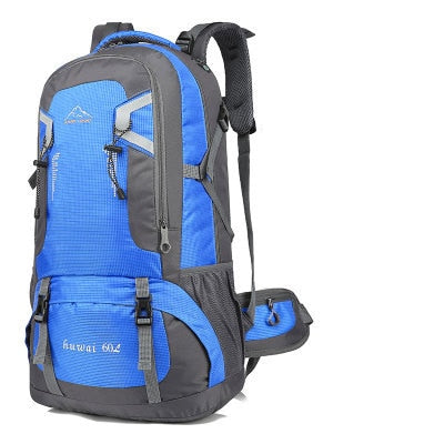 60L waterproof unisex men backpack travel pack sports bag pack Outdoor Climbing Mountaineering Hiking Camping backpack for male