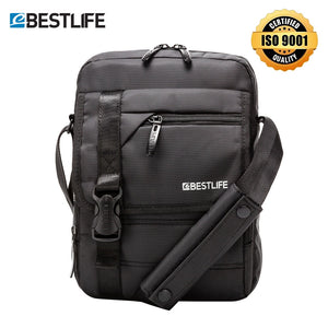 "Men's Crossbody Bag 10.2"" Shoulder Messenger Bag Tablet Small Bag for Men AntiTheft Portable Waterproof Handbag 6L"